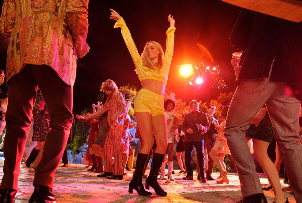"""تغییر اجتماعی در لباس های فیلم """"روزی روزگاری در هالیوود"""""""